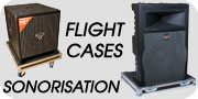 Flight case sonorisation