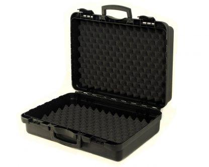 valise noir mousse a bosselage