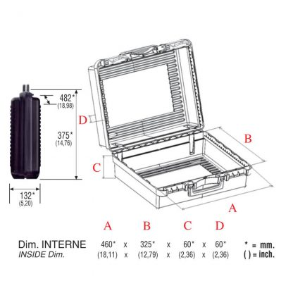 dimensions valise 48