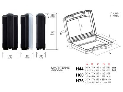 dimensions mallette 26