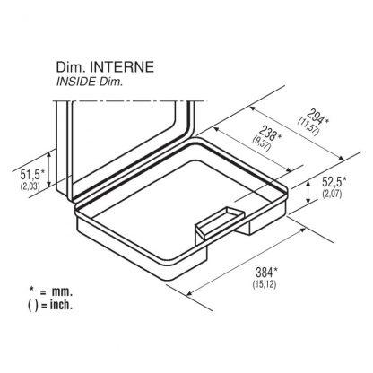 dimensions valisette 39 intérieur