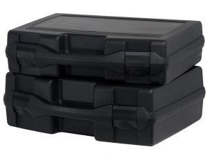valise plastique rigide