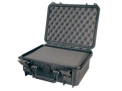 valise noire durcie