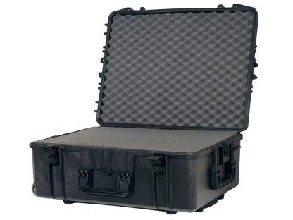 valise avec garnissage en mousse