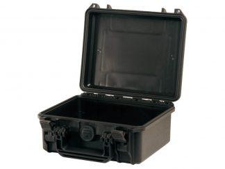 valise noire ouverte