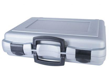 Valise plastique rigide gris ou noir