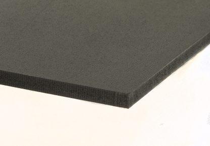 Polypropylène expansé noir, foamlite