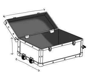 valise flight case